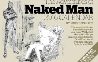 Naked Man Calendar 2016
